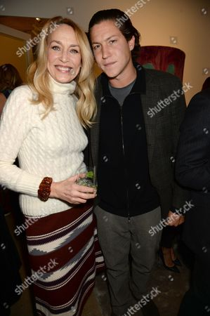 Jerry Hall and Vito Schnabel