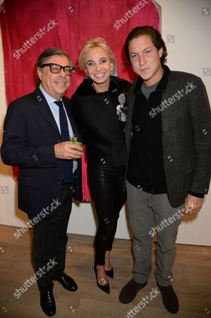 Princess Corinna zu Sayn-Wittgenstein, Bob Colacello and Vito Schnabel