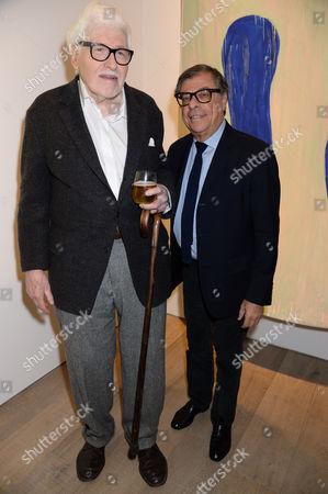 Ron Gorchov and Bob Colacello