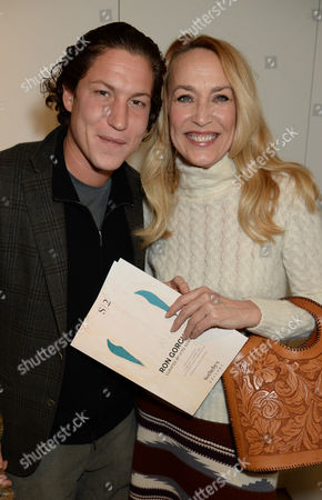 Vito Schnabel and Jerry Hall