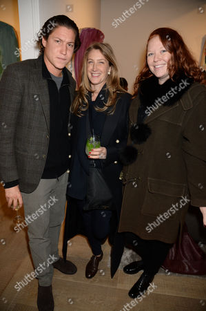 Vito Schnabel, Georgina Cohen and guest