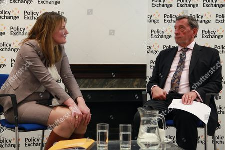Rt. Hon David Blunkett MP and Allegra Stratton (Newsnight editor)