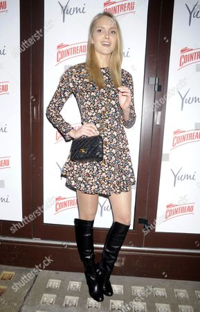 Editorial picture of Cointreau and Yumi launch event, London, Britain - 04 Feb 2015