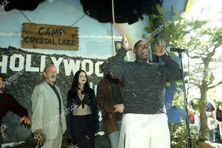 Editorial photo of UNVEILING OF WAXWORK FIGURES OF 'FREDDY VS JASON' AT THE HOLLYWOOD WAX MUSEUM, LOS ANGELES, AMERICA - 13 JAN 2004