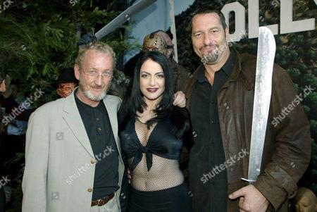 Robert Englund with Ivana Cadaver and Ken Kirzinger
