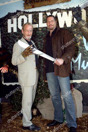 Robert Englund with Ken Kirzinger
