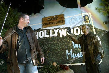 Ken Kirzinger and Jason Voorhees Wax Figure