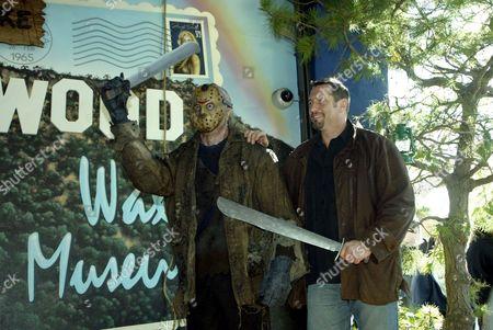 Jason Voorhees Wax Figure and Ken Kirzinger