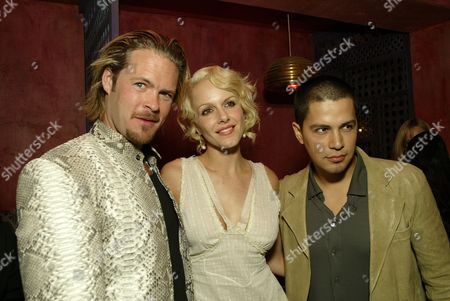 Matt Schulze, Jay Hernandez and Monet Mazur
