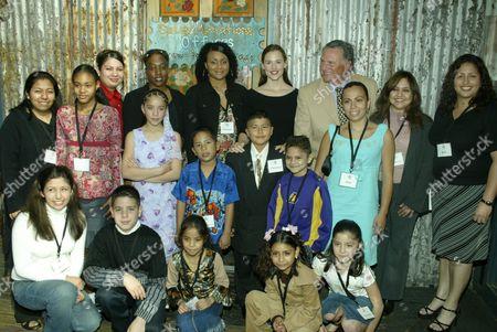 Jennifer Garner and Honoree Howie Phanstiel with IHAD-LA