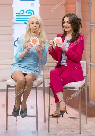 Stock Picture of Wincey Willis and Laura Tobin