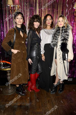 Guest, Jess Morris, Anne-Laure Lombard, Kara Rose Marshall