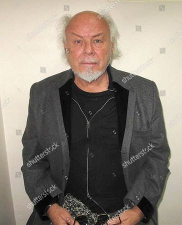 Stock Image of Met Police Photo of Paul Gadd aka Gary Glitter who has been convicted for six offences of sexual assault, sentencing is on 27th Feb