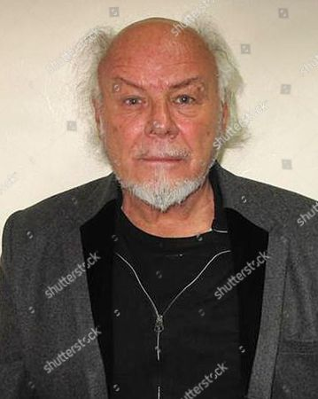 Met Police Photo of Paul Gadd aka Gary Glitter who has been convicted for six offences of sexual assault, sentencing is on 27th Feb