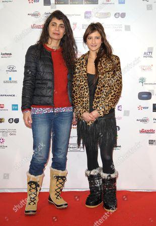 Anne Villaceque and Lola Creton