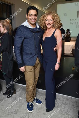 Piers Linney and Kelly Hoppen