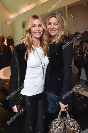 Melissa Odabash and Diane Kordas (R)