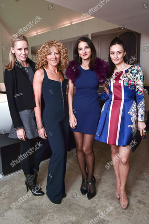 Nadya Abela, Kelly Hoppen, Yasmin Mills and Aytan Eldarova