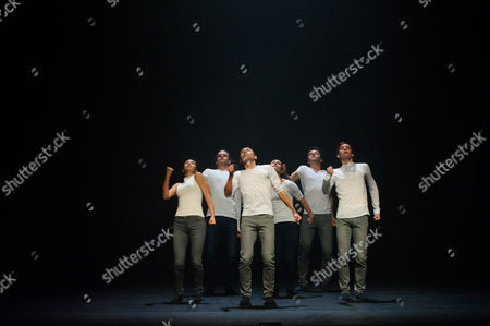 """Three Sadler's Wells Associates - Kate Prince, Crystal Pite and Hofesh Shechter - present new work at the theatre. The piece shown is: Hofesh Shechter's """"The Barbarians In Love"""""""