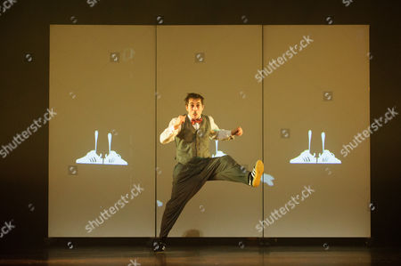 Three Sadler's Wells Associates - Kate Prince, Crystal Pite and Hofesh Shechter - present new work at the theatre. The piece shown is 'Smile', by Kate Prince, danced by Tommy Franzen