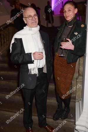 Stock Photo of John Dunbar and guest