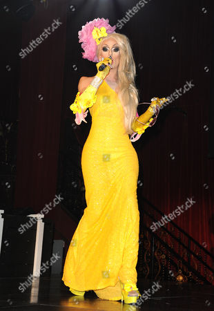 Editorial image of RuPaul's Drag Race Battle of The Seasons Condragulations' Tour, Los Angeles, America - 04 Feb 2015