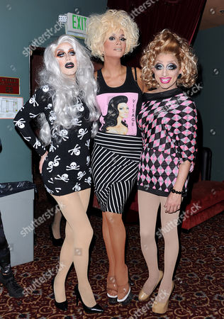 Sharon Needles, Raja, Bianca Del Rio