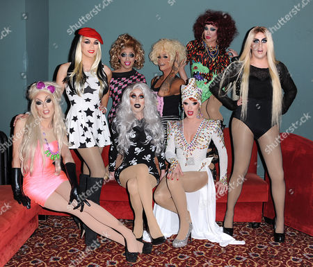 Editorial photo of RuPaul's Drag Race Battle of The Seasons Condragulations' Tour, Los Angeles, America - 04 Feb 2015