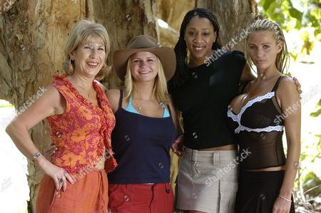 JENNIE BOND, Kerry Katona [KATONA], DIANE MODAHL AND Katie Price (JORDAN) © ITV 2004