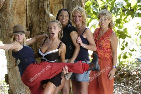 Kerry Katona [KATONA], Katie Price (JORDAN), DIANE MODAHL, Alex Rodrigo Dias da Costa BEST AND JENNIE BOND © ITV 2004