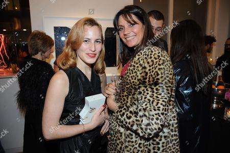 Charlotte Dellal and Countess Debonnaire von Bismarck