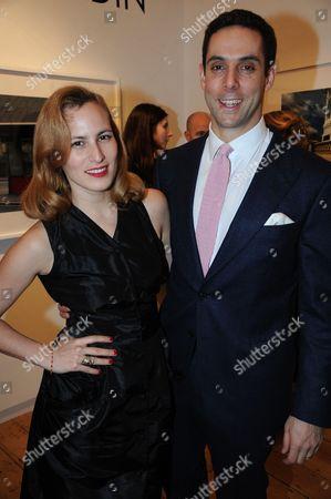 Charlotte Dellal and husband Maxim Crewe
