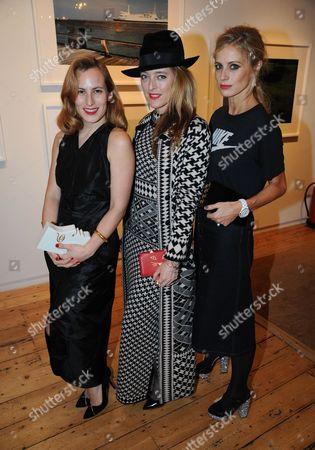 Charlotte Dellal, Alice Temperley and Laura Bailey