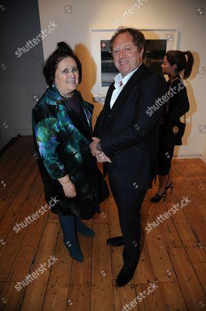 Suzy Menkes and Michael Hoppen