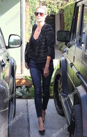 Editorial photo of Heidi Klum leaves Andy LeCompte Salon, West Hollywood, Los Angeles, America - 05 Feb 2015