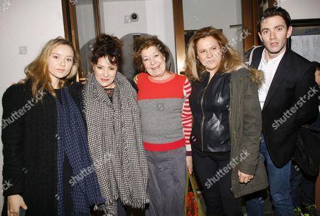 Alexandra Dowling, Harriet Thorpe, Roberta Taylor, Matilda Thorpe, Benjamin Fisher