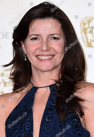 Christine Langan accepts award for Outstanding British Contribution to Cinema won by BBC Films