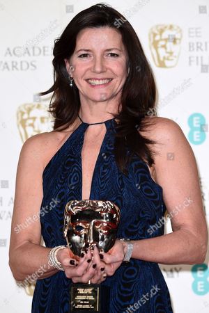 Editorial image of EE BAFTA British Academy Film Awards, Press Room, Royal Opera House, London, Britain - 08 Feb 2015