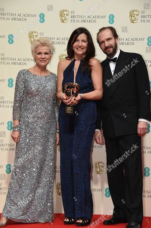 Editorial photo of EE BAFTA British Academy Film Awards, Press Room, Royal Opera House, London, Britain - 08 Feb 2015
