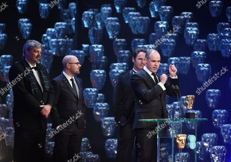 Paul Franklin - Winner of the Award for Special Visual Effects - Interstellar