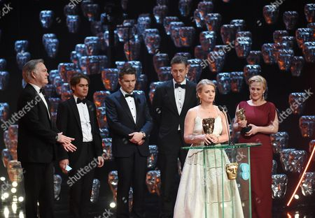Editorial image of EE BAFTA British Academy Film Awards, Show, Royal Opera House, London, Britain - 08 Feb 2015