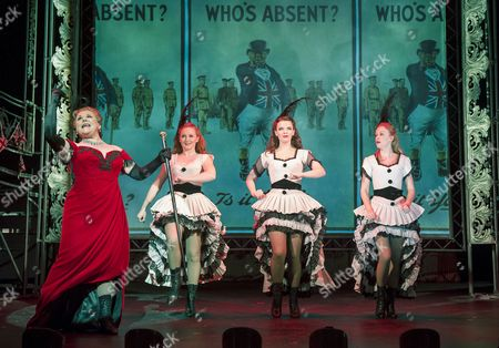 Editorial image of 'Oh What A Lovely War' Musical performed at the Theatre Royal Stratford E15, London, Britain - 29 Jan 2015