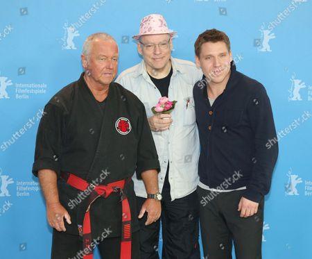 Andreas Marquardt, Director Rosa von Praunheim and Hanno Koffler