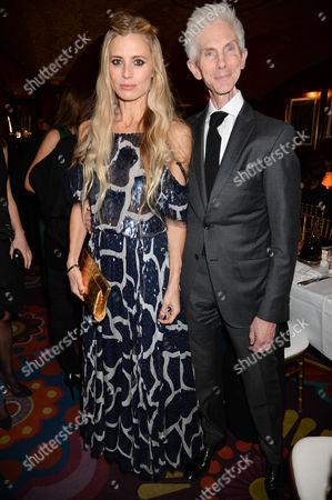 Laura Bailey and Richard Buckley
