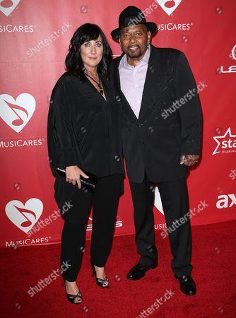 Aaron Neville and Sarah Ann Friedman