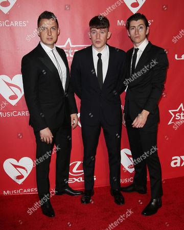 Jamie Cook, Matt Helders, Alex Turner