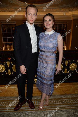 Evan Jones and Hayley Atwell