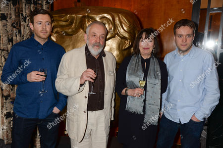 Stock Picture of Toby Leigh, Mike Leigh, Marion Bailey and Leo Leigh