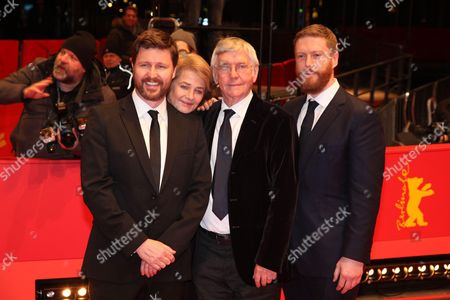 Andrew Haigh, Tom Courtenay, Charlotte Rampling and Tristan Goligher