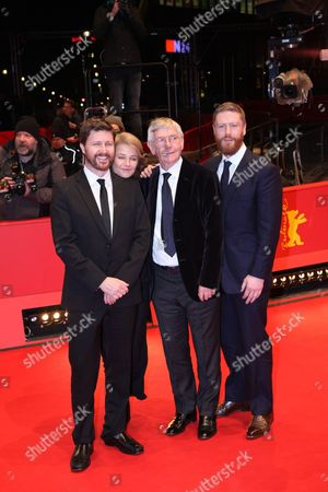 Andrew Haigh, Charlotte Rampling, Tom Courtenay and Tristan Goligher